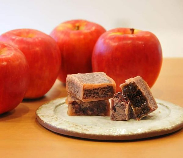 期間限定「りんごきんつば」販売開始いたしました。